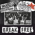 NAKED AGGRESSION / DIE SCHWARZEN SCHAFE - Break Free split EP